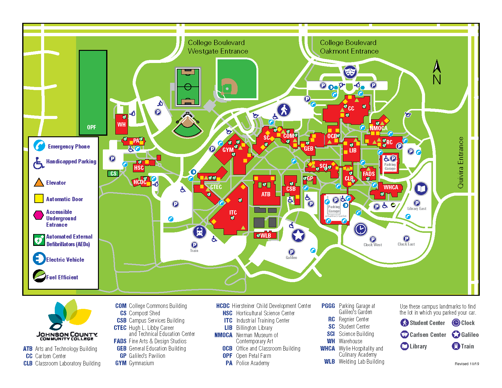 graphic relating to Door County Map Printable identified as Johnson County Regional School Campus Map