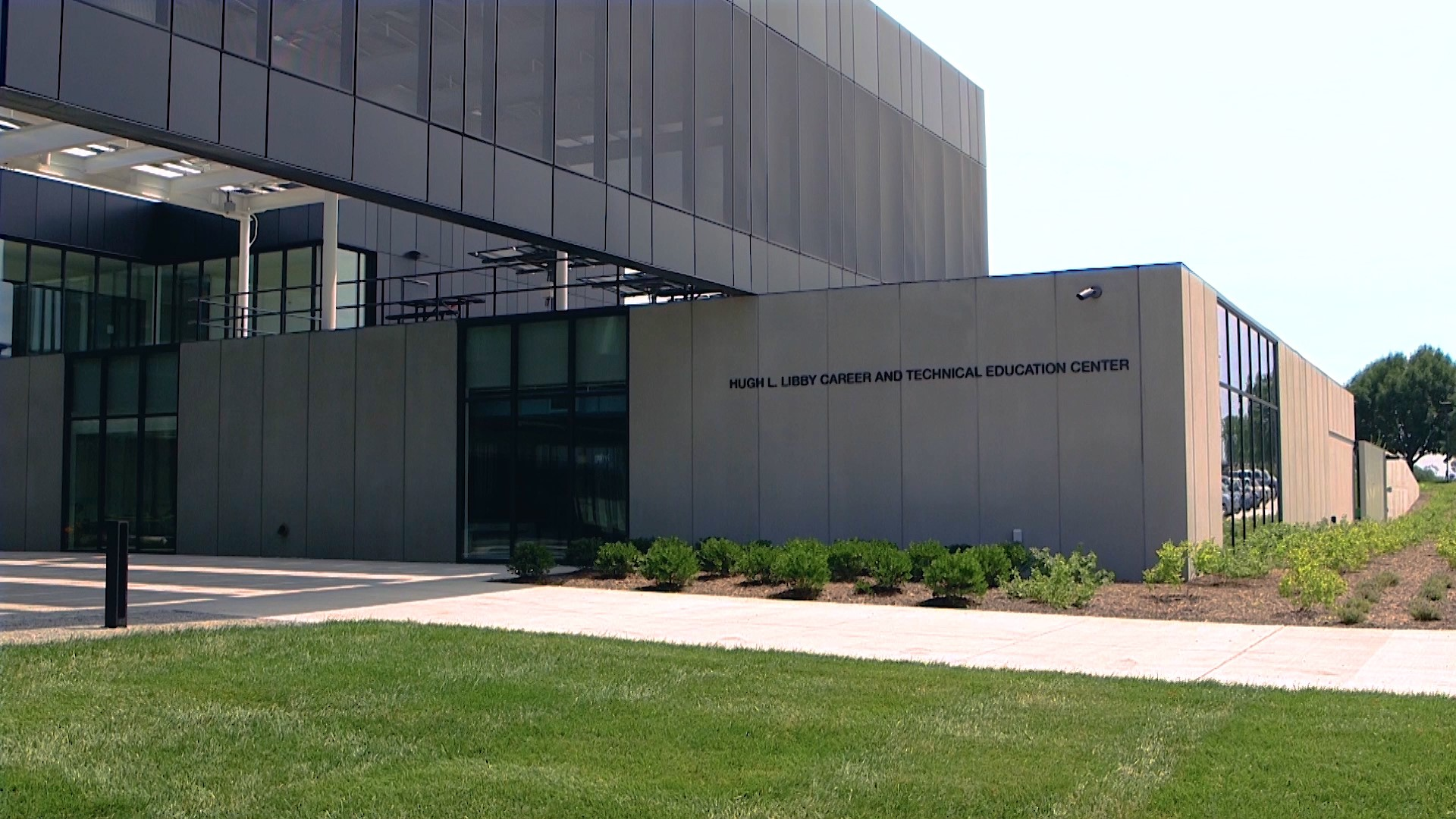 Front of the Hugh L. Libby Career and Technical Education Center