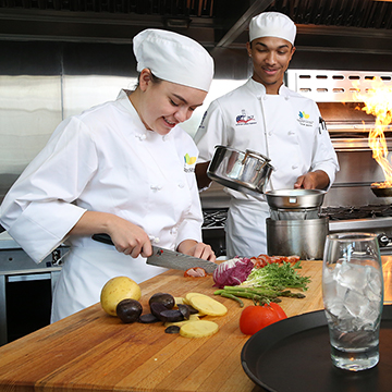 The Hospitality & Culinary department prepares its students for a variety of careers in hospitality and culinary arts.