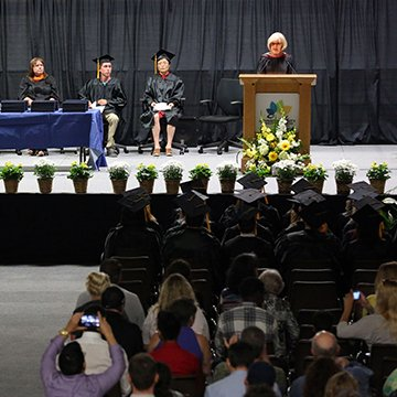 Image from the GED graduation ceremony.