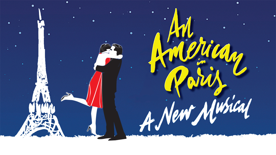Theater poster for An American in Paris