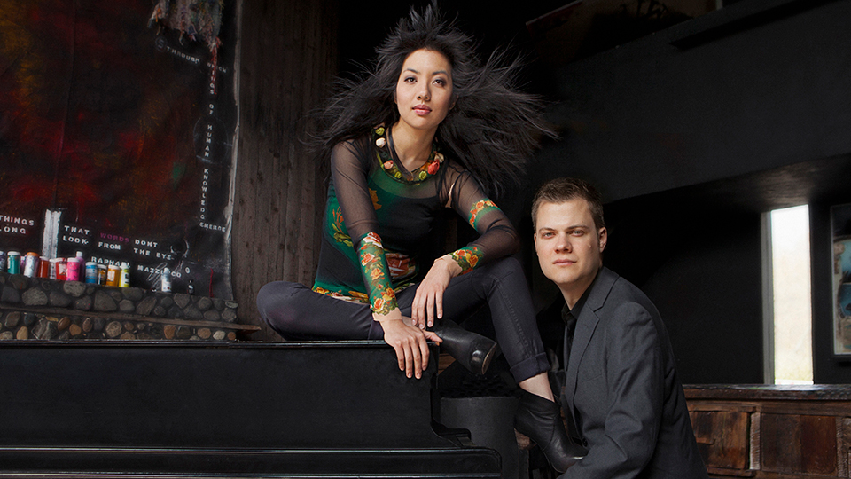 Promotional photo of Greg Anderson and Elizabeth Joy Roe.