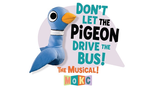 Promotional poster for Don't Let the Pigeon Drive the Bus! The Musical