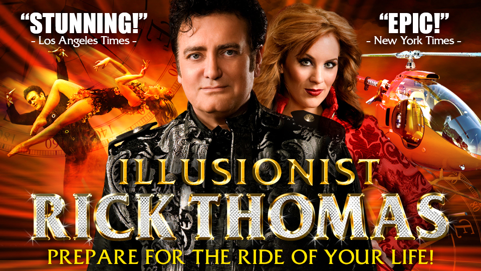 Illusionist Rick Thomas poster