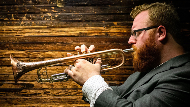 Trumpet player Nate Nall
