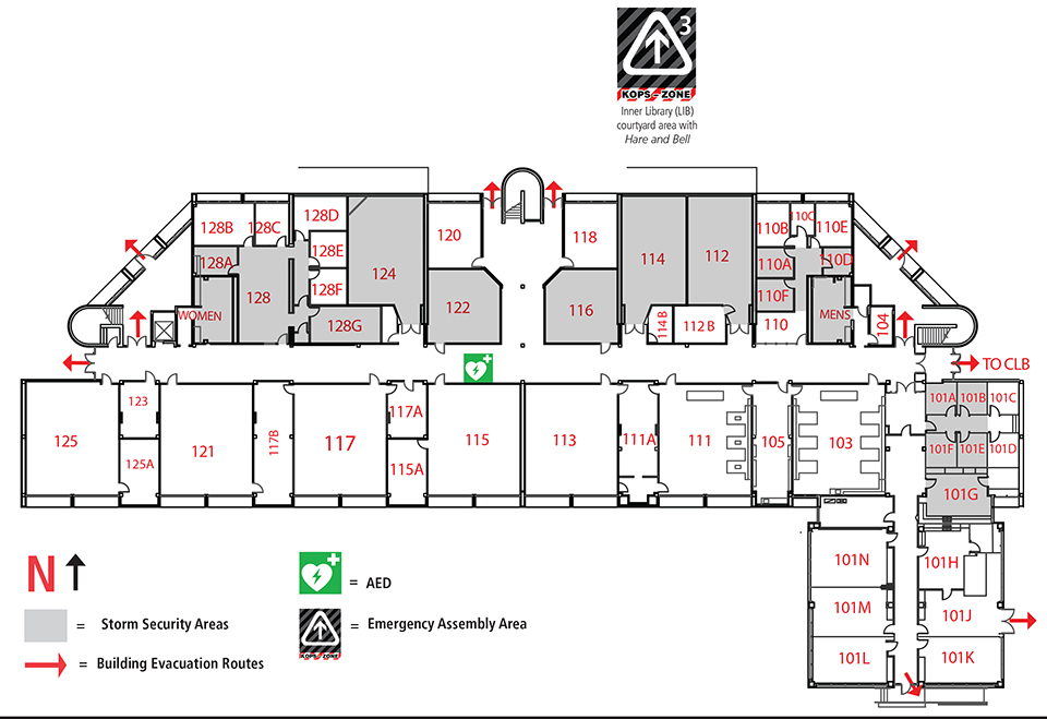 Science Building Map Sci